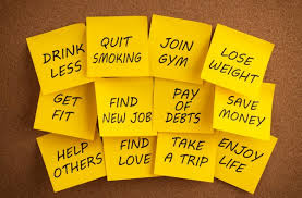 New Year Sticky Notes